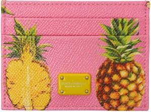 dolce gabbana leather card holder