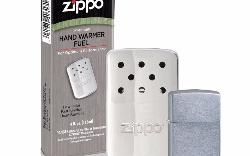 Zippo's Pocket-Sized Hand Warmer Will Keep