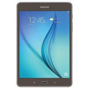 Samsung Galaxy Tab A SM-T350 8 inch 16GB Smoky Titanium w/ Carrying Pouch (Certified Refurbishd)