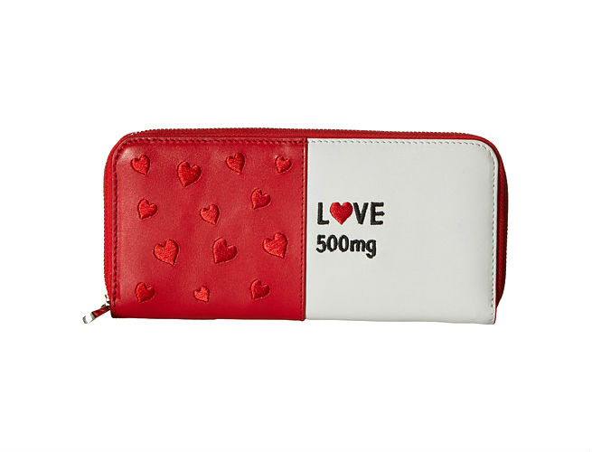 Alice Olivia Love Pill Leather Wallet