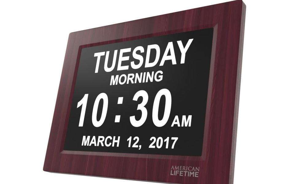 American Lifetime Extra Large Day Clock