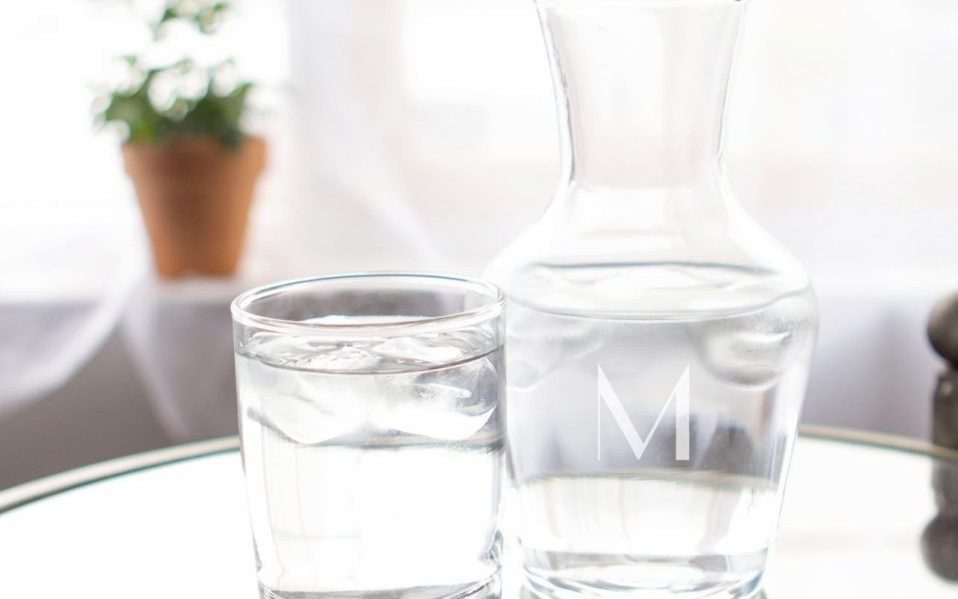 This Carafe & Glass Set Will
