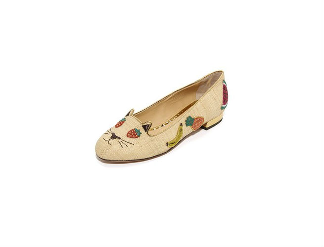 """Charlotte Olympia Kitty Flats are """"Purrfect"""""""