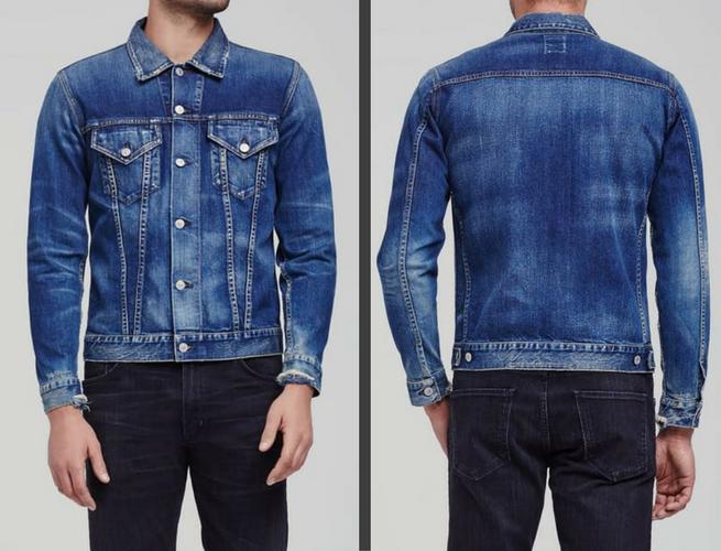 wilkes classic denim jacket mens citizens