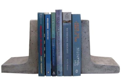 Scoutmob Concrete Bookends