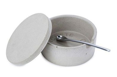 Concrete Salt Bowl by Port Living Company
