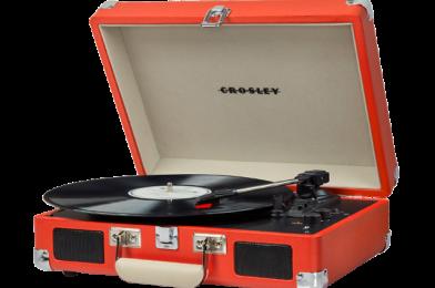 Crosley Cruiser Deluxe Portable Turntable