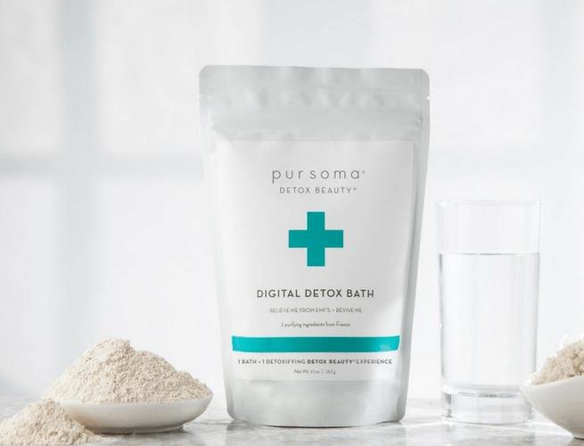 digital detox bath pursoma