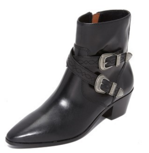 Frye Ellen Short Buckle Booties