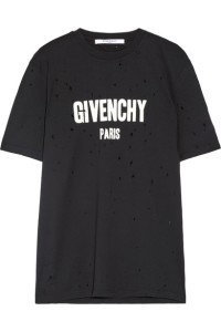 This T-shirt has a loose fit and is printed with the label's iconic block lettering. Now that Riccardo Tisci has announced his departure from Givenchy, this is the time to scoop up one of his iconic shirts before the changing of the Givenchy guard.