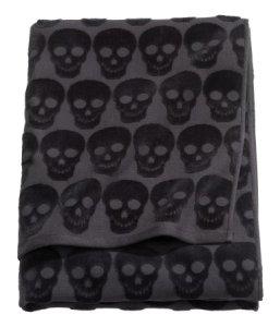 Skull Bath Towel