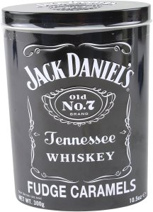 Jack Daniels Whiskey Fudge Caramels