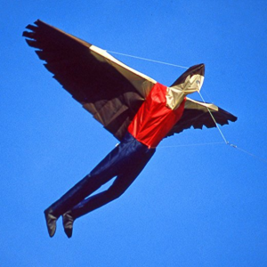 Martin Lester Life Size Icarus Inflatable Kite