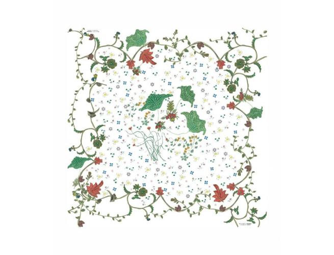Tibetan silk art pattern for Trace