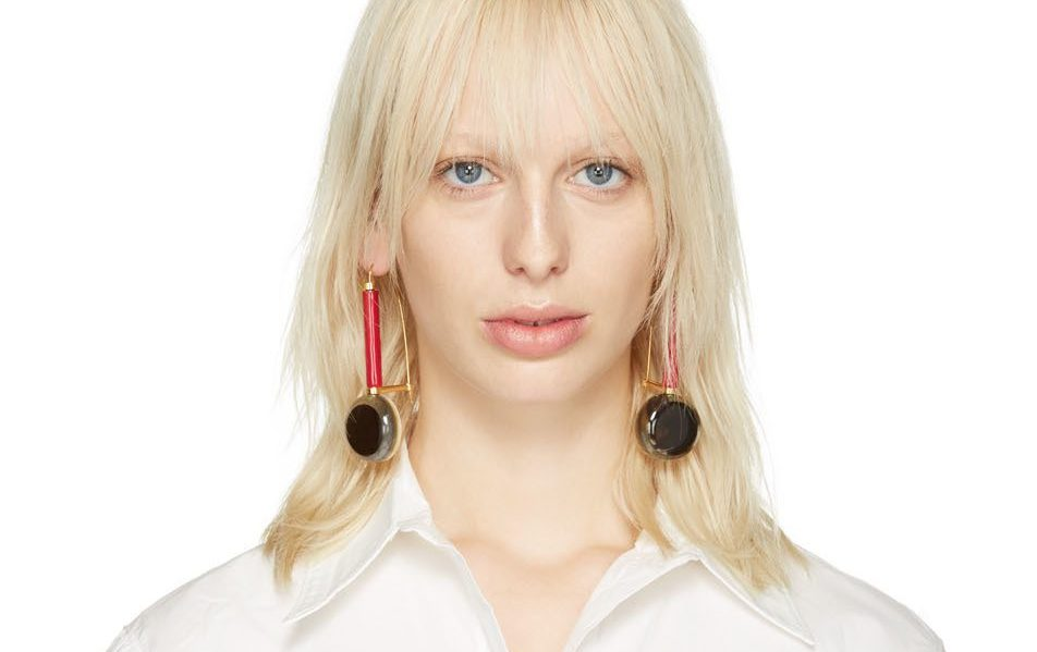drop earrings by Marni