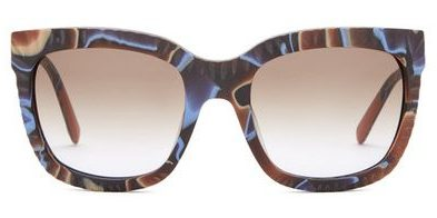 Missoni Women's Textured Cat Eye Sunglasses