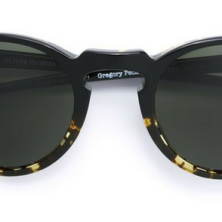 Oliver People's Gregory Peck Black & Tortoise Shell Sunglasses
