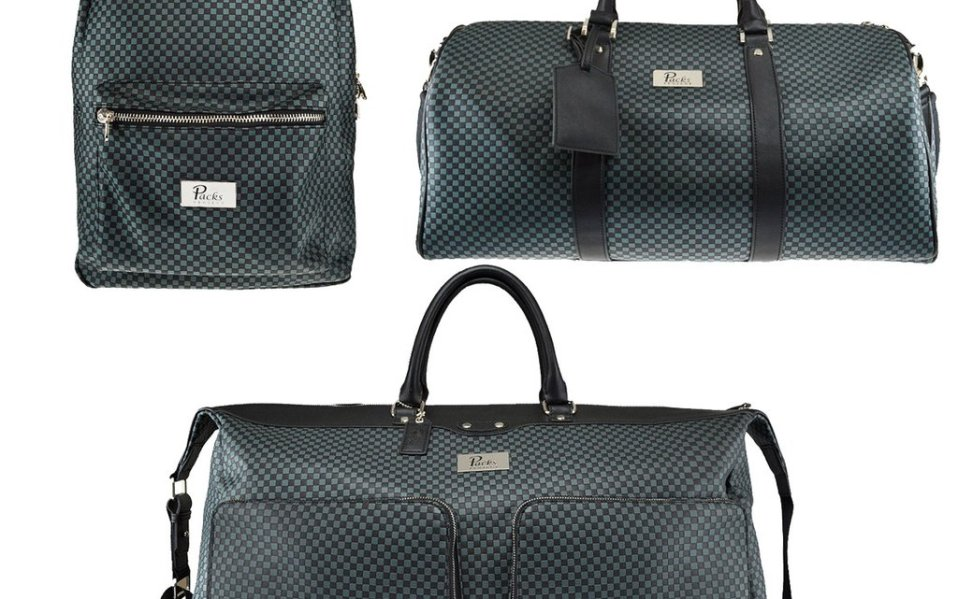 A Guilt-Free Vegan Leather Luggage Set