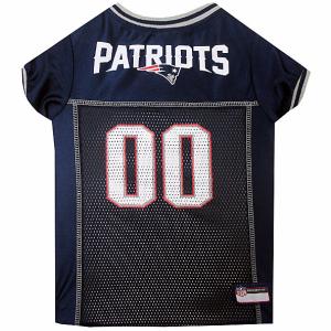 New England Patriots NFL Mesh Pet Jersey