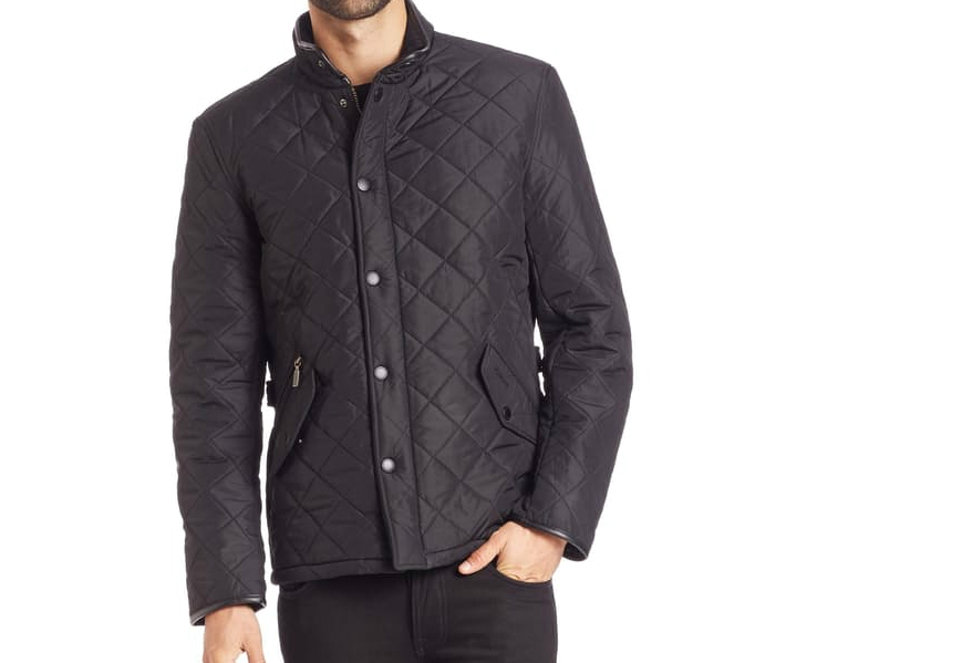 Quilted jacket great for layering