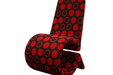 red-and-black-modern-chair
