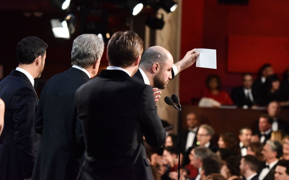 Oscar Mistake Awards Best Picture to