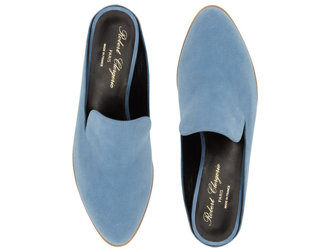 The Robert Clergerie Loafer Mule Slipper