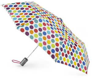 Totes Classics 3 Section Automatic Compact Umbrella