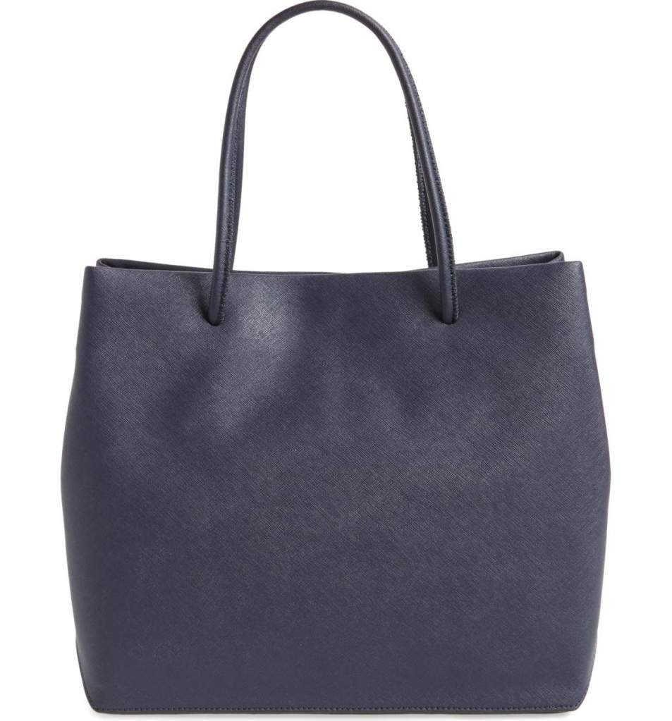 Marc Jacobs leather logo tote bag
