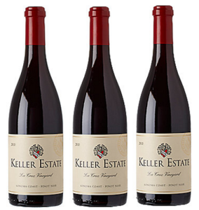 2013 Keller Estate La Cruz Vineyard Pinot Noir: 3 Bottles