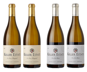 2013 Keller Estate Mixed Chardonnay: 4 Bottles