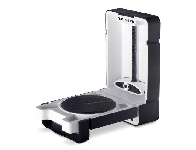 3d scanner matter and form