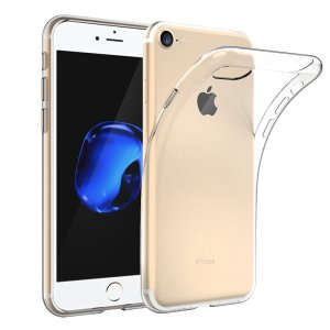 iPhone 7 Case, EasyAcc iPhone 7 Soft TPU Case Crystal Clear Transparent Slim Anti Slip Case Back Protector Cover Shockproof for iPhone 7