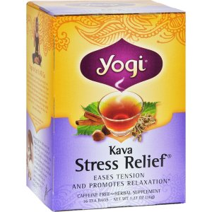 Yogi Tea, Kava Stress Relief