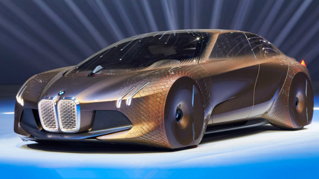 bmw driverless car