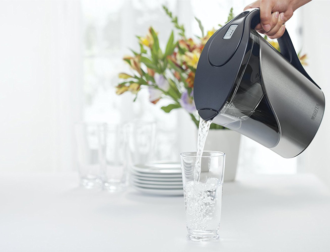 Brita water filter pitcher review Stainless