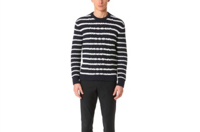 Club Monaco Striped Sweater