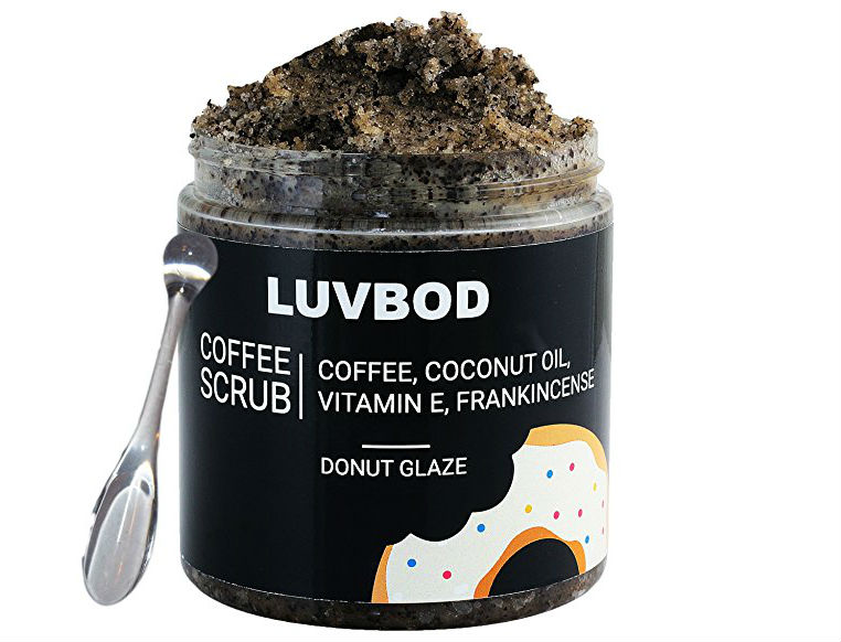 coffee body scrub luvbod
