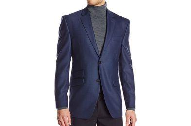 Perry Ellis Men's Suit Separate Jacket