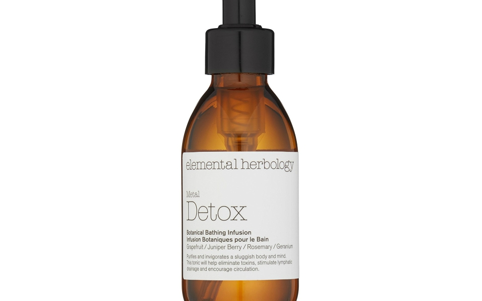 detox bath Elemental Herbology botanical bathing