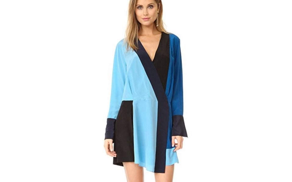 Diane Von Furstenberg Crossover Dress Amazon