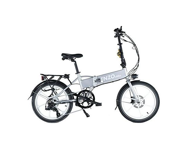 enzo electric folding bike