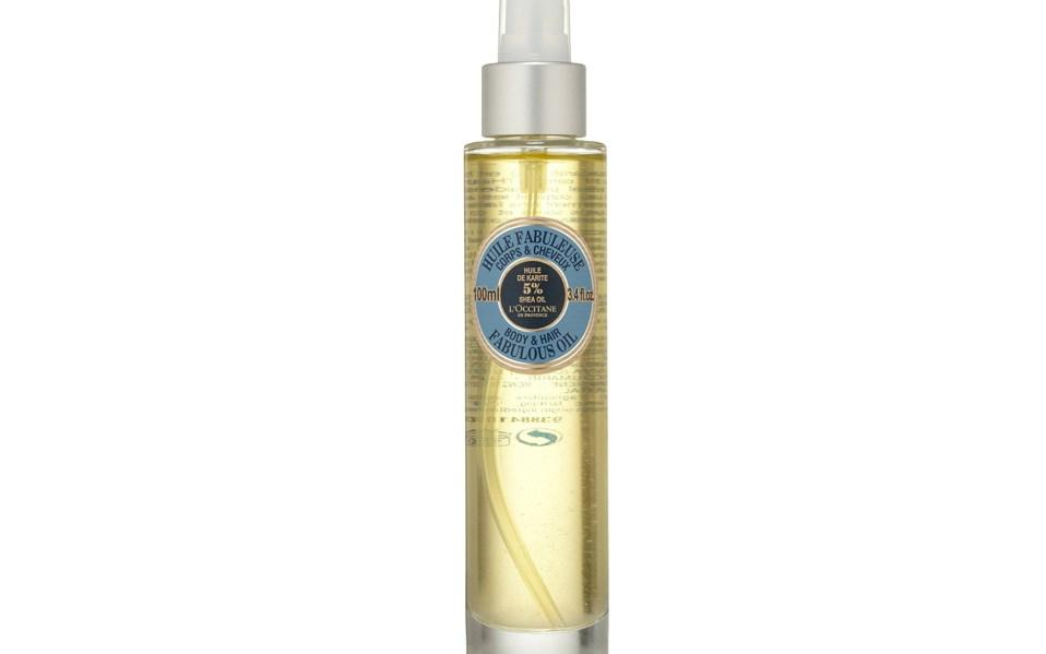 L'Occitane's Shea Butter Oil is a
