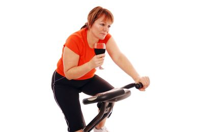 fitness trend alcohol exercise