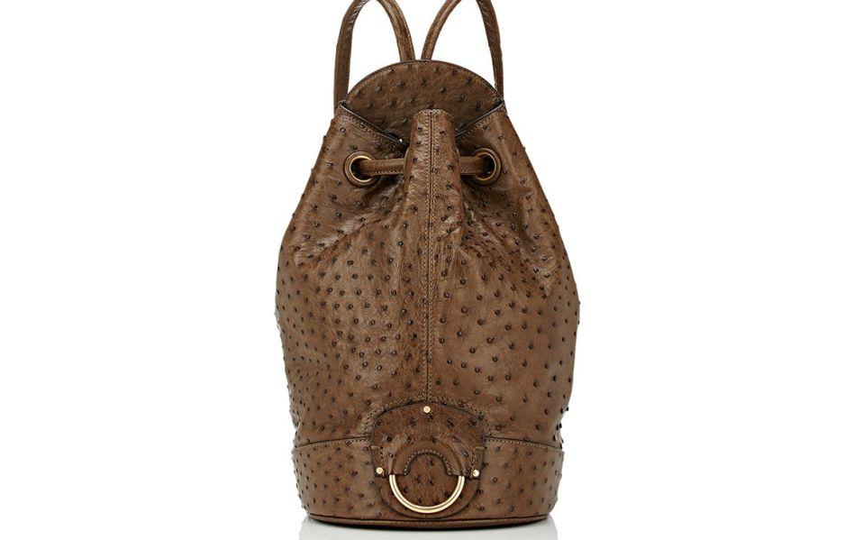 Burma Ostrich Backpack