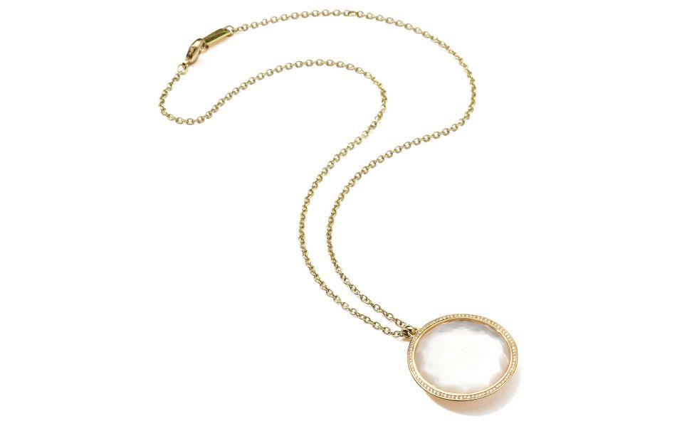 Ippolita signature Lollipop pendant necklace