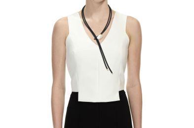 Mizuki Leather Bolo Necklace