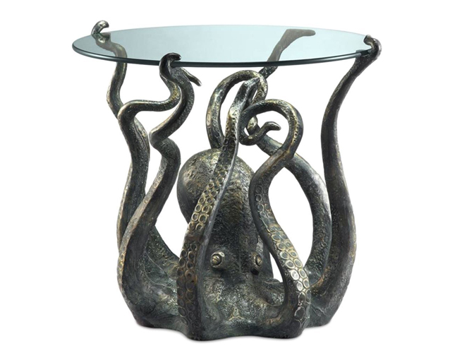 ocean decor Octopus End Table