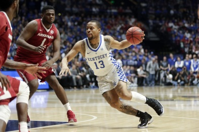 SEC Arkansas Kentucky Basketball, Nashville, USA - 12 Mar 2017