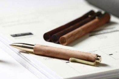 Rosewood Retro Pen